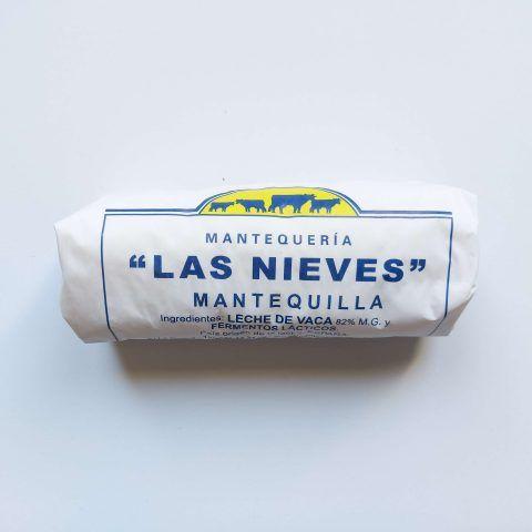 Mantequilla pasiega Las Nieves