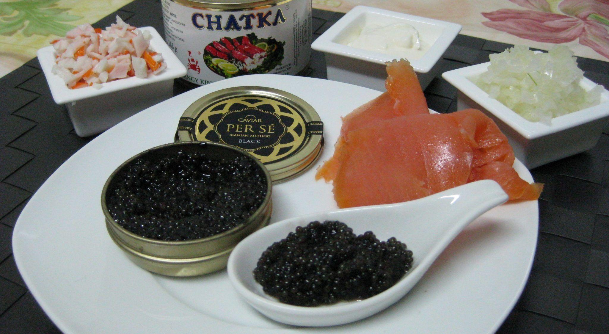 El caviar, el salmón o el chatka