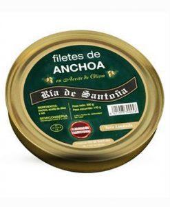 Comprar Anchoas de Santoña Serie Oro Pandereta