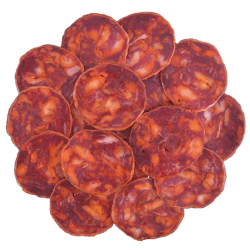 Chorizo ibérico de bellota loncheado Martín Sánchez