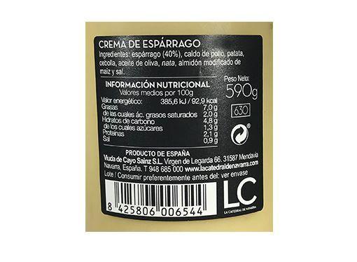 Comprar Crema de esparragos LC