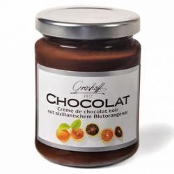 Crema de Chocolate Negro y Naranja sanguina Grashoff
