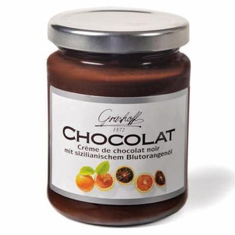 Comprar Crema de Chocolate Negro y Naranja Grashoff