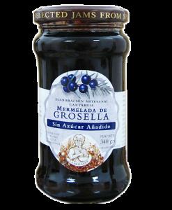 Mermelada sin azúcar de Grosella La Artesana