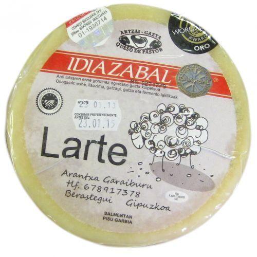 Queso de oveja Pastor Larte DO Artzai Gazta