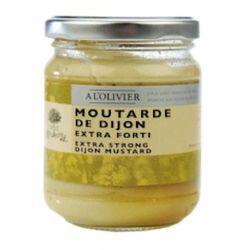 Moutarde de Dijon À L'Olivier extra forte