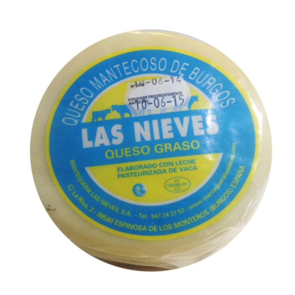 Creamy cheese Las Nieves Piece