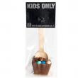 Cuillère à chocolat avec Smarties