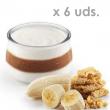 Yogurt Artesano Ecológico de platano y galleta Pastoret
