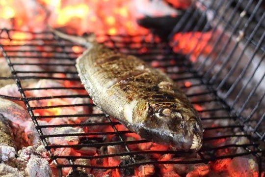 Cómo cocinar pescados a la barbacoa