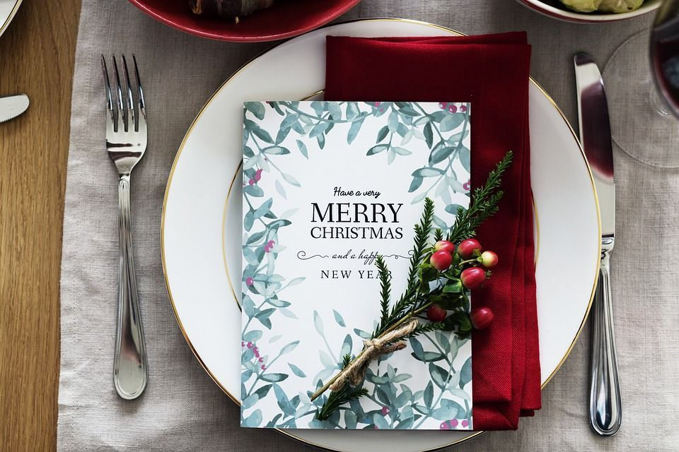 Menú gourmet de Navidad