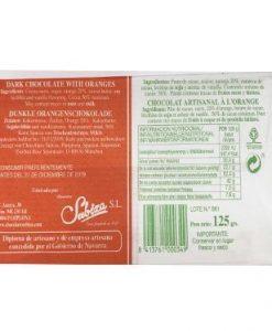 Comprar Chocolate a la naranja