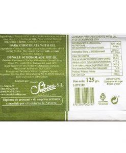 Comprar Chocolate puro con aceite oliva virgen