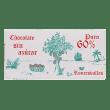 Chocolate Subiza artesano puro sin azúcar