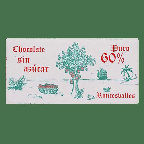 Chocolat Subiza artisan pur sans sucre