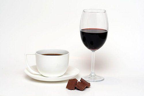 Maridar vino y chocolate