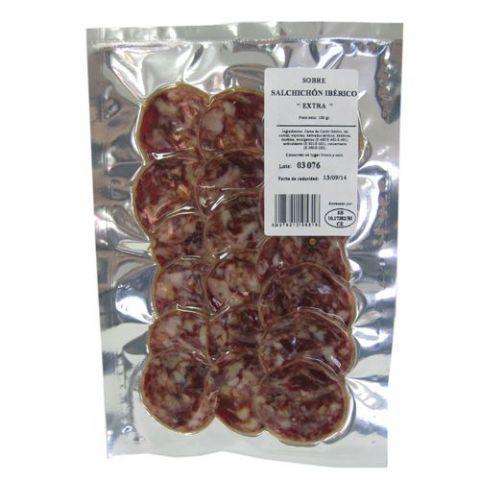Iberian salchichon K Gourmet sliced