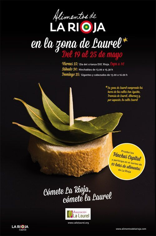 Jornadas Gastronómicas: Cómete La Rioja, cómete La Laurel