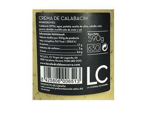 Comprar crema de calabacin LC
