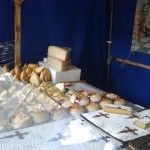 Quesos del mercado medieval