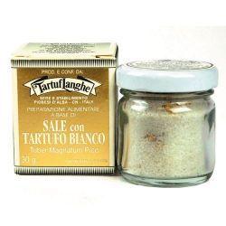 Sal de Guerande con trufa blanca Tartuflanghe