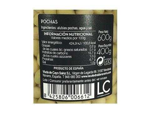 Buy pochas white beans La Catedral de Navarra