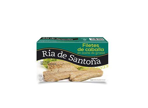 Filetes de caballa en aceite de girasol Ría de Santoña