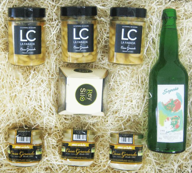 Regalo gourmet productos asturianos