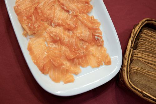 Las propiedades del salmón ahumado