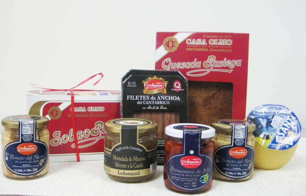 regalo gourmet productos de Cantabria
