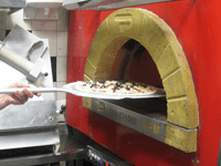 horneamos la pizza