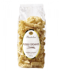 Pâtes italiennes Bartolini Fusilli Giganti