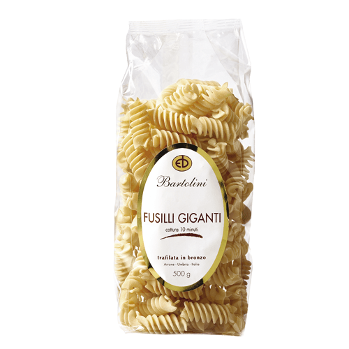 Pasta Italiana Bartolini Fusilli Giganti