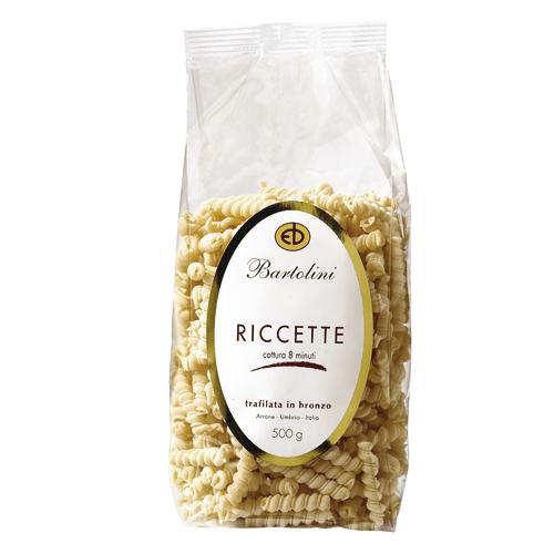 Pâtes italiennes Bartolini Riccette