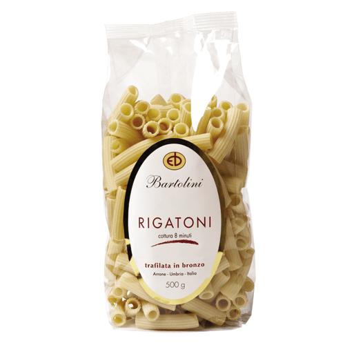 Pâtes italiennes Bartolini Rigatoni