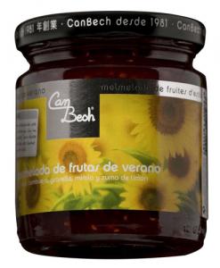 Mermelada de frutas de verano Can Bech