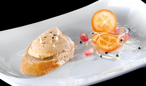 Foie gras de pato y foie gras de oca