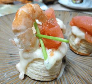 Hojaldre de salmón