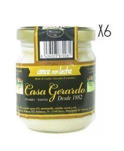Arroz con leche Casa Gerardo Pack 6 uds