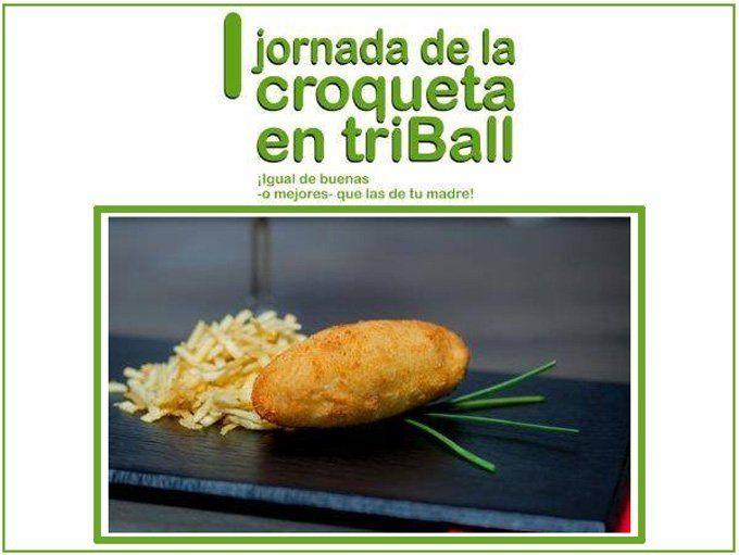 I Jornada de la croqueta en triBall (Madrid)