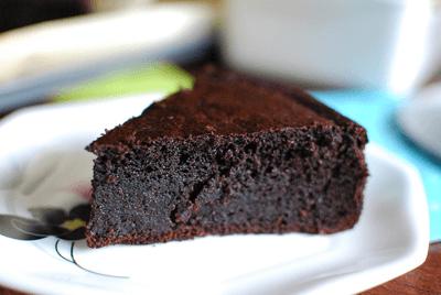 Receta de bizcocho de chocolate al vino tinto