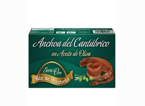 Comprar Anchoas de Santoña Serie Oro 50 gramos