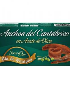 Anchoas de Santoña serie oro 50 gr
