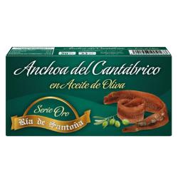 Conserve d'anchois Série Or Ria de Santoña 50 gr