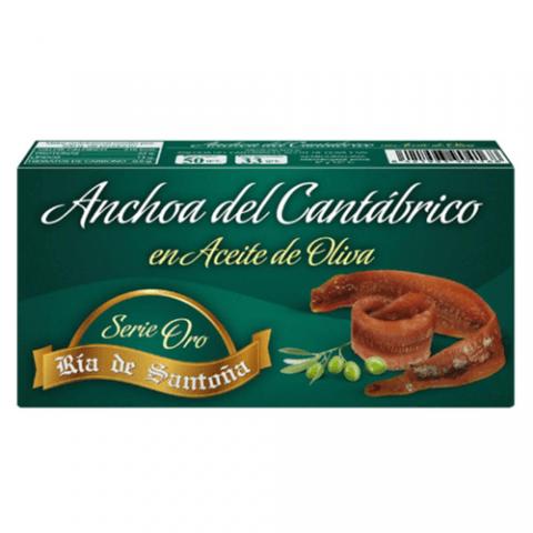 Cantabrian anchovies Gold Serie Ría de Santoña 50 g.
