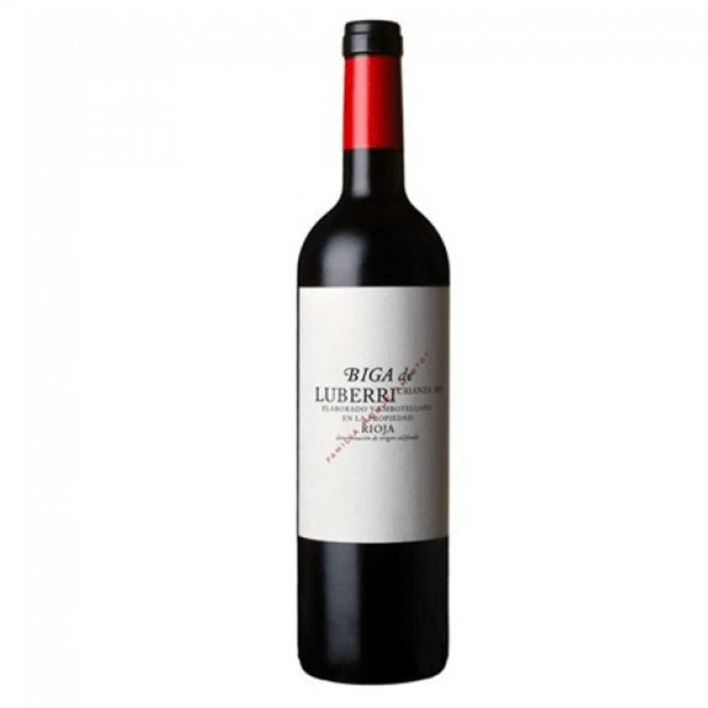 Vin rouge Biga crianza Luberri