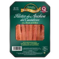 Conserve d'anchois 00 8-10 filets Ría de Santoña