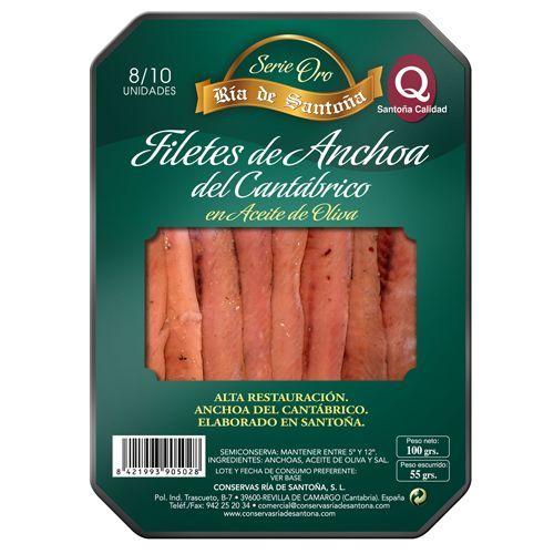 Anchoas de Santoña 00 8-10 filetes Ría de Santoña