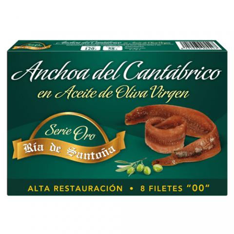 Cantabrian anchovies 00 Haute Cuisine  8 fillets Ría de Santoña