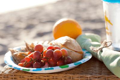 Los menús más frescos para comer en la playa